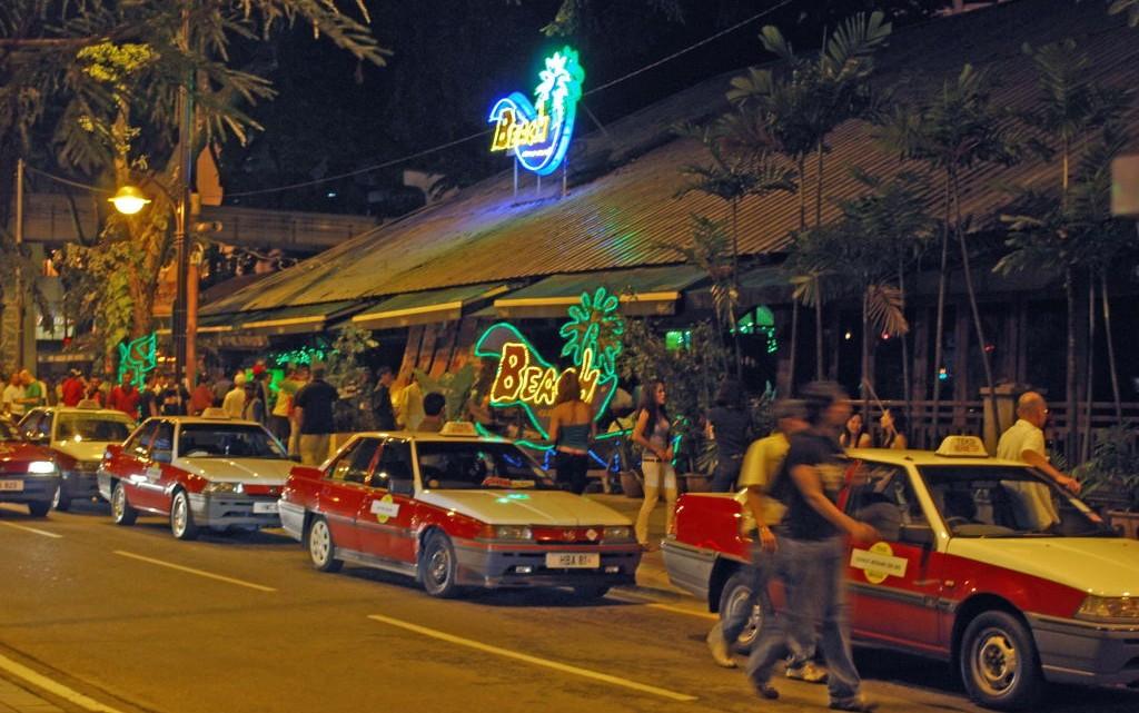 Beach Club bar in KL