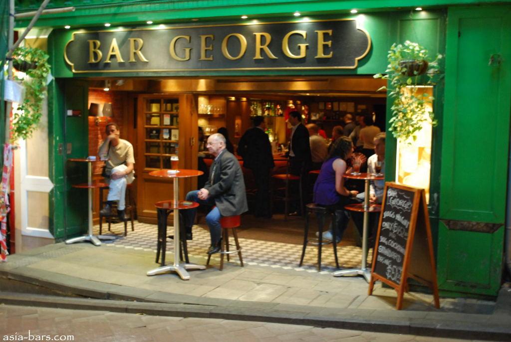 Bar George Lan Kwai Fong Hong Kong Asia Bars Amp Restaurants