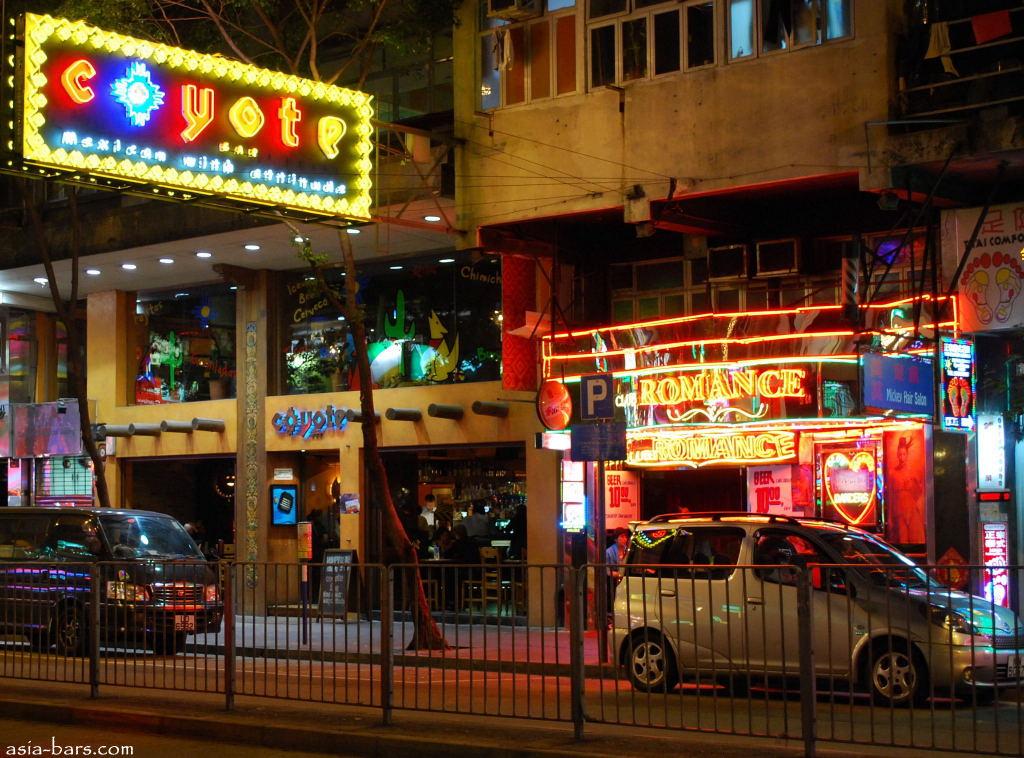 Bars And Restaurants In Wan Chai