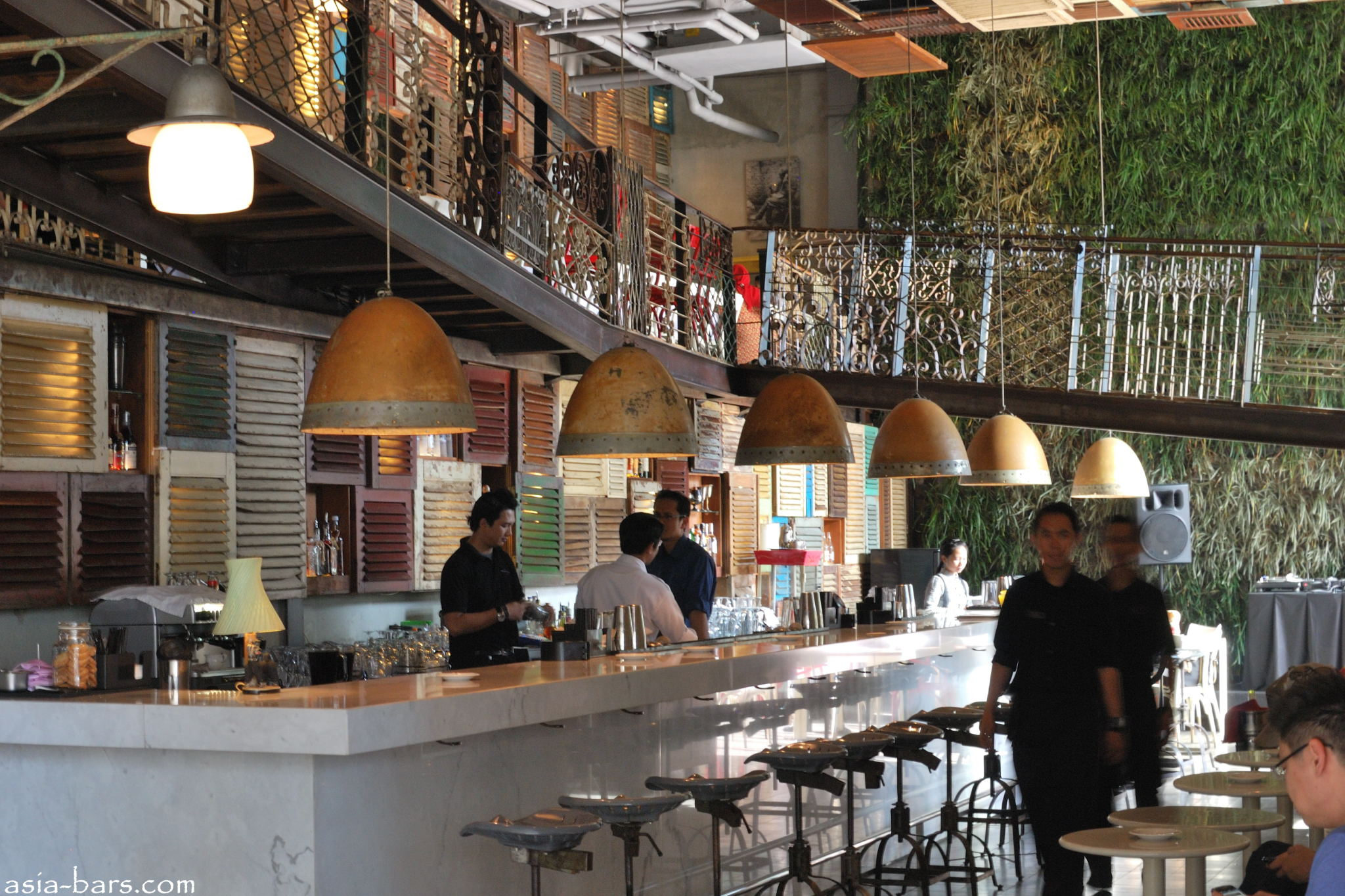 Potato Head Uniquely Stylish Bar Restaurant Amp Lounge At
