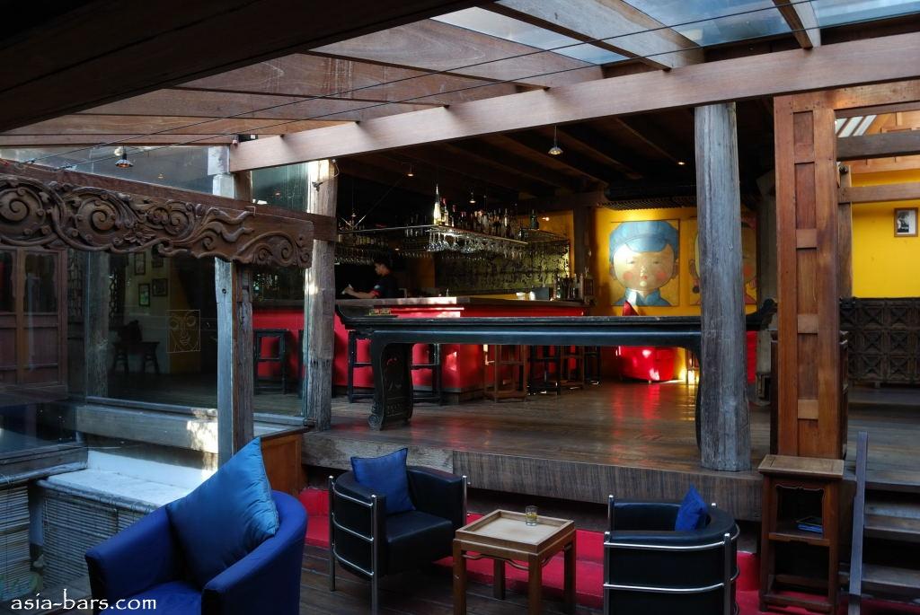 Face bangkok bar restaurants thailand asia