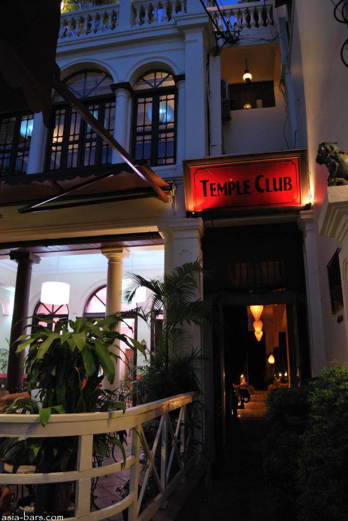 Temple club-