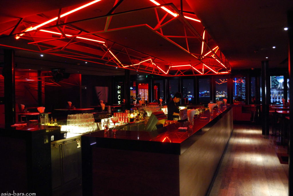 Bar Rouge Rooftop Nightclub Amp Lounge The Bund Shanghai
