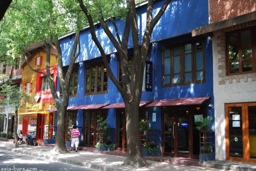 blue frog shanghai
