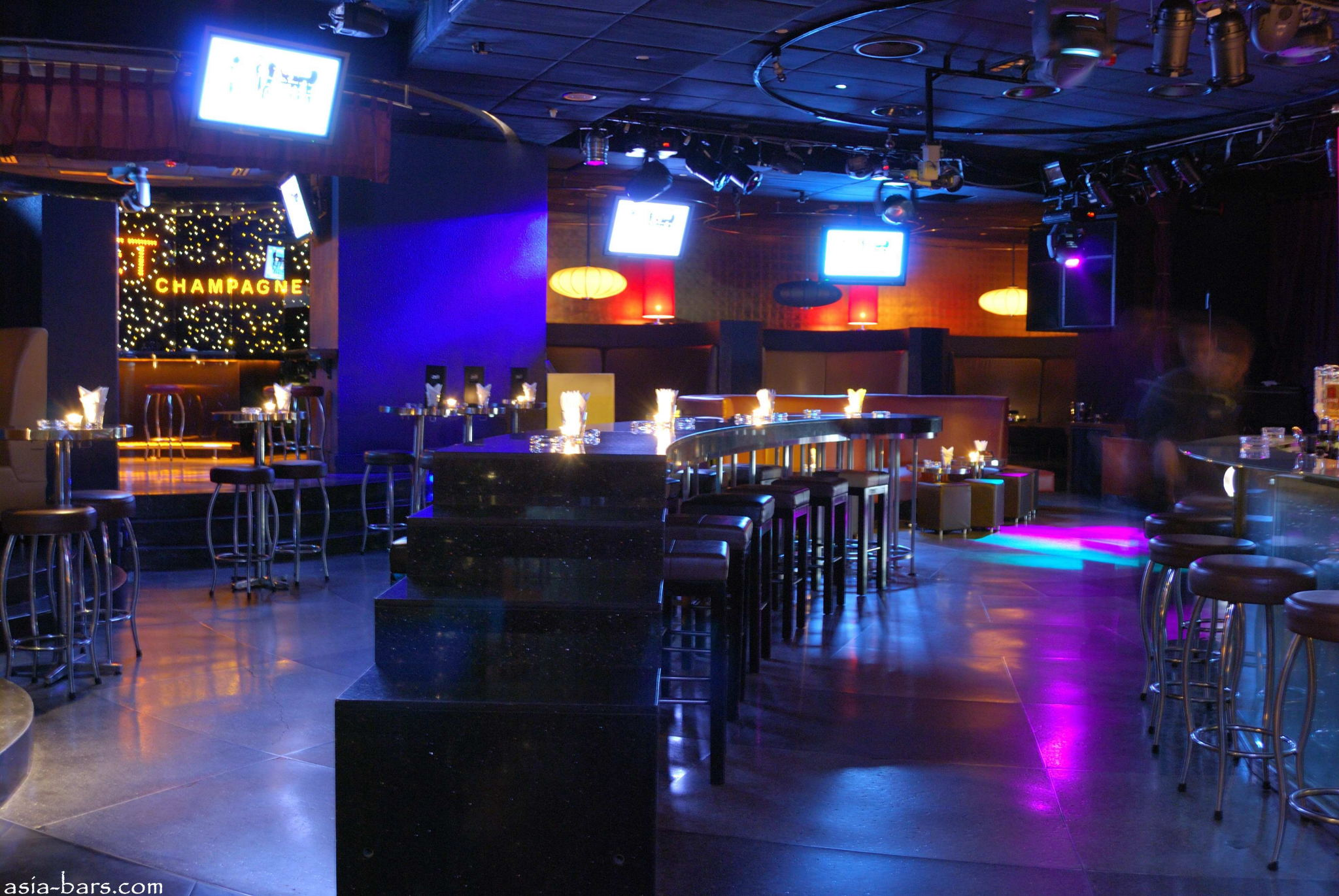 Zeta Bar Nightclub Amp Lounge At Hilton Kuala Lumpur Asia