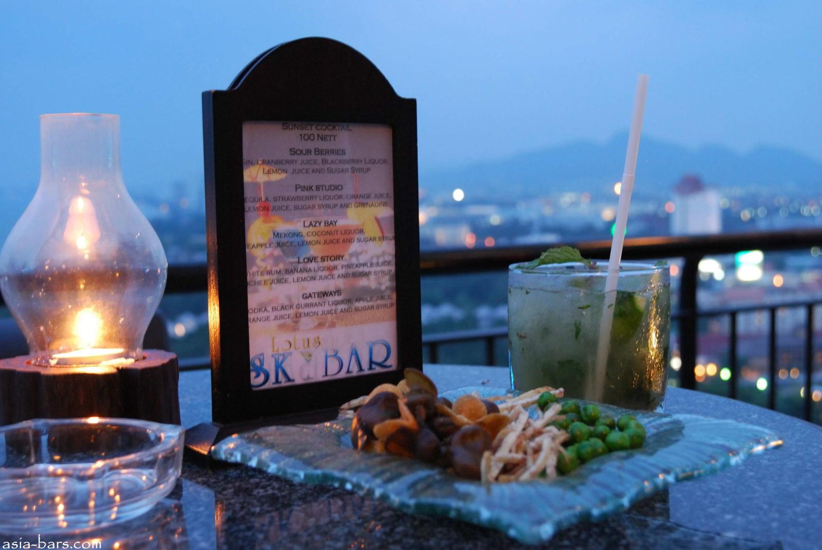 Lotus Skybar Cocktail Bar At Hilton Hua Hin Resort Amp Spa