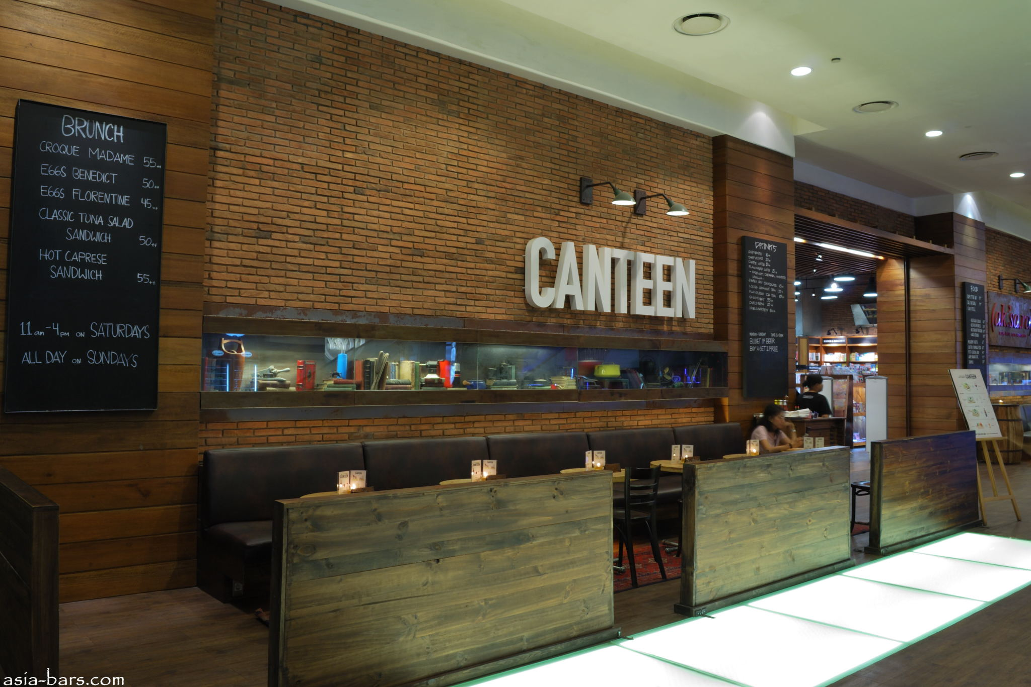 Canteen Cafe Amp Wine Bar Relaxed Ambiance Pacific Place