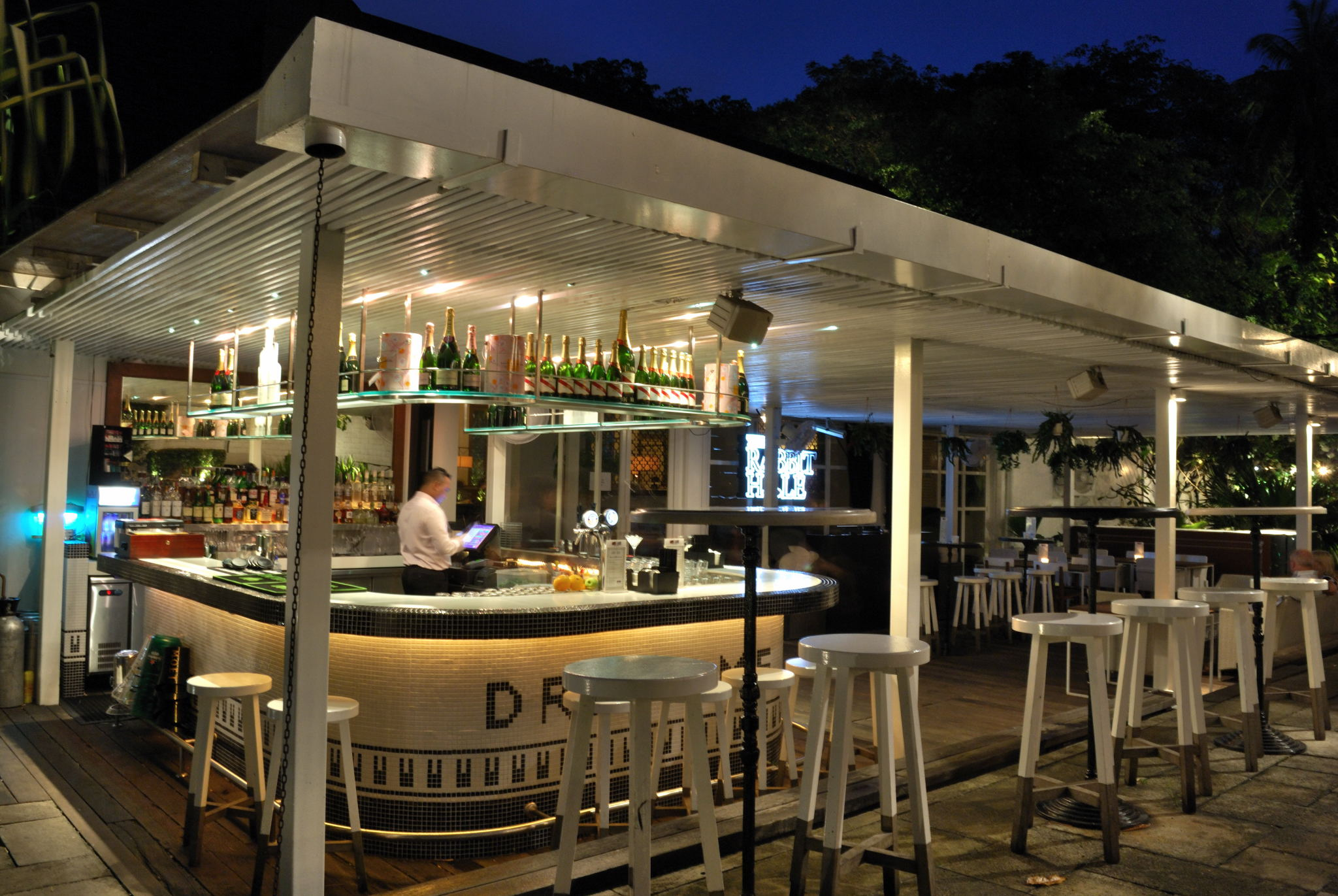 The White Rabbit Enchanting Restaurant Amp Bar In Restored Church Singapore Asia Bars