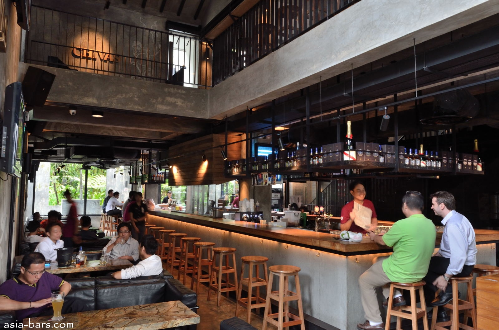 KPO Cafe Bar- stylish cafe dining and chill-out bar in Singapore ...