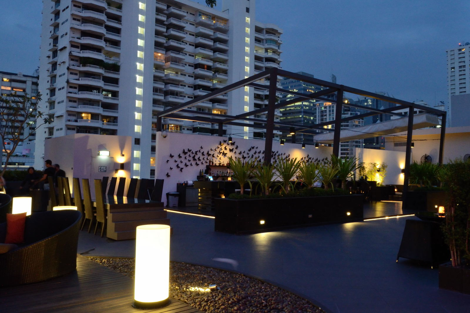 Ambar Expansive New Rooftop Lounge Bar At Four Points By