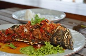 kan eang@pier- seafood dish