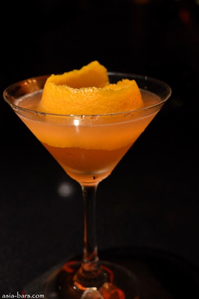 casbah @ mandarin oriental- mandarin whisky cocktail