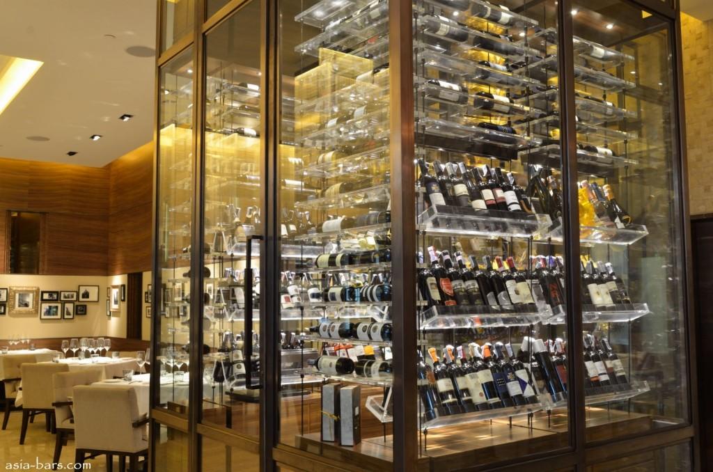 Jojo wine cellar @ st regis bangkok