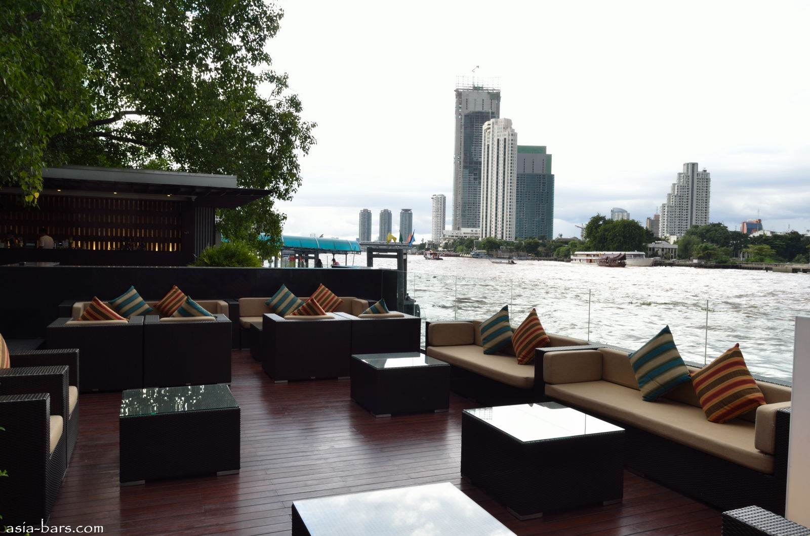 Sambal bar and grill contemporary asian dining on bangkok for Terrace bar grill