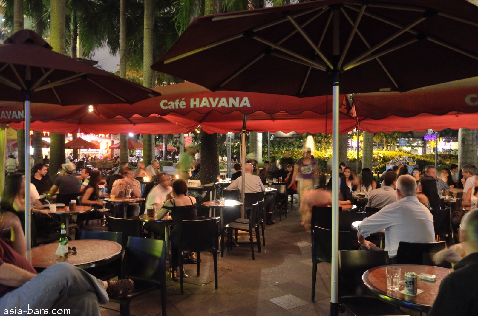 Cafe Havana @ Greenbelt Makati- cafe by day- vibrant bar with live ...