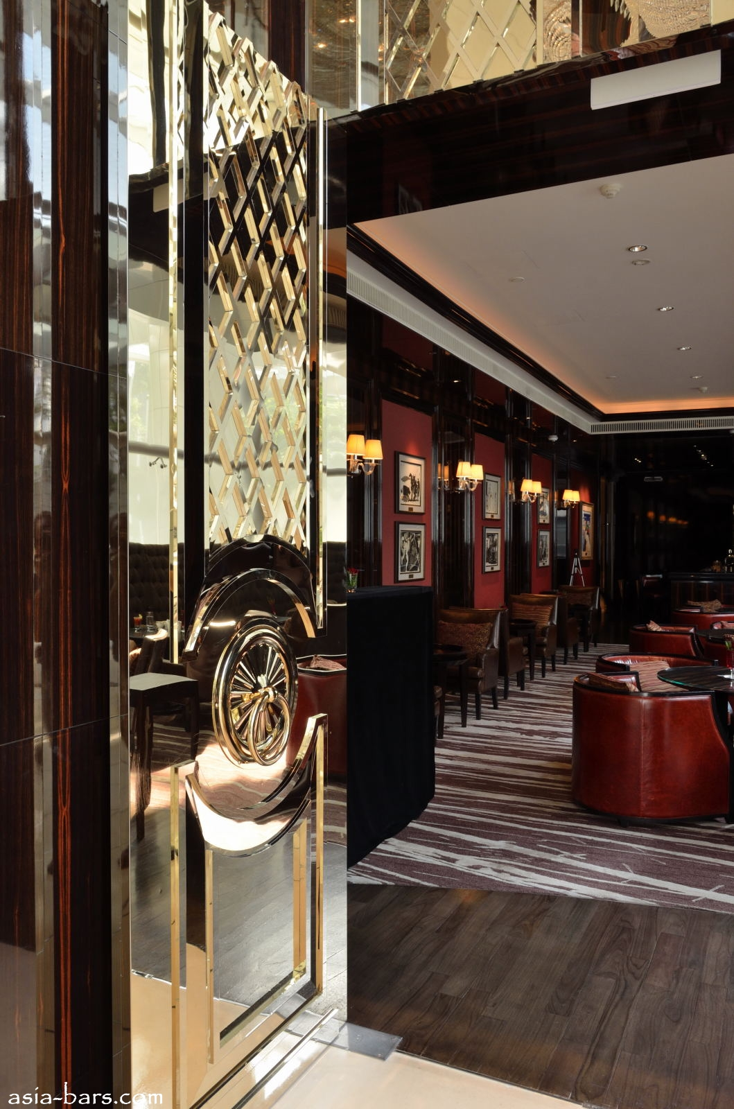 Astor Bar At The St Regis Singapore Elegant Refined