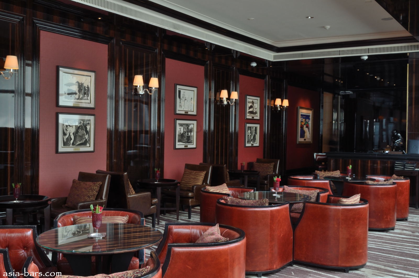 Astor Bar At The St Regis Singapore Elegant Refined