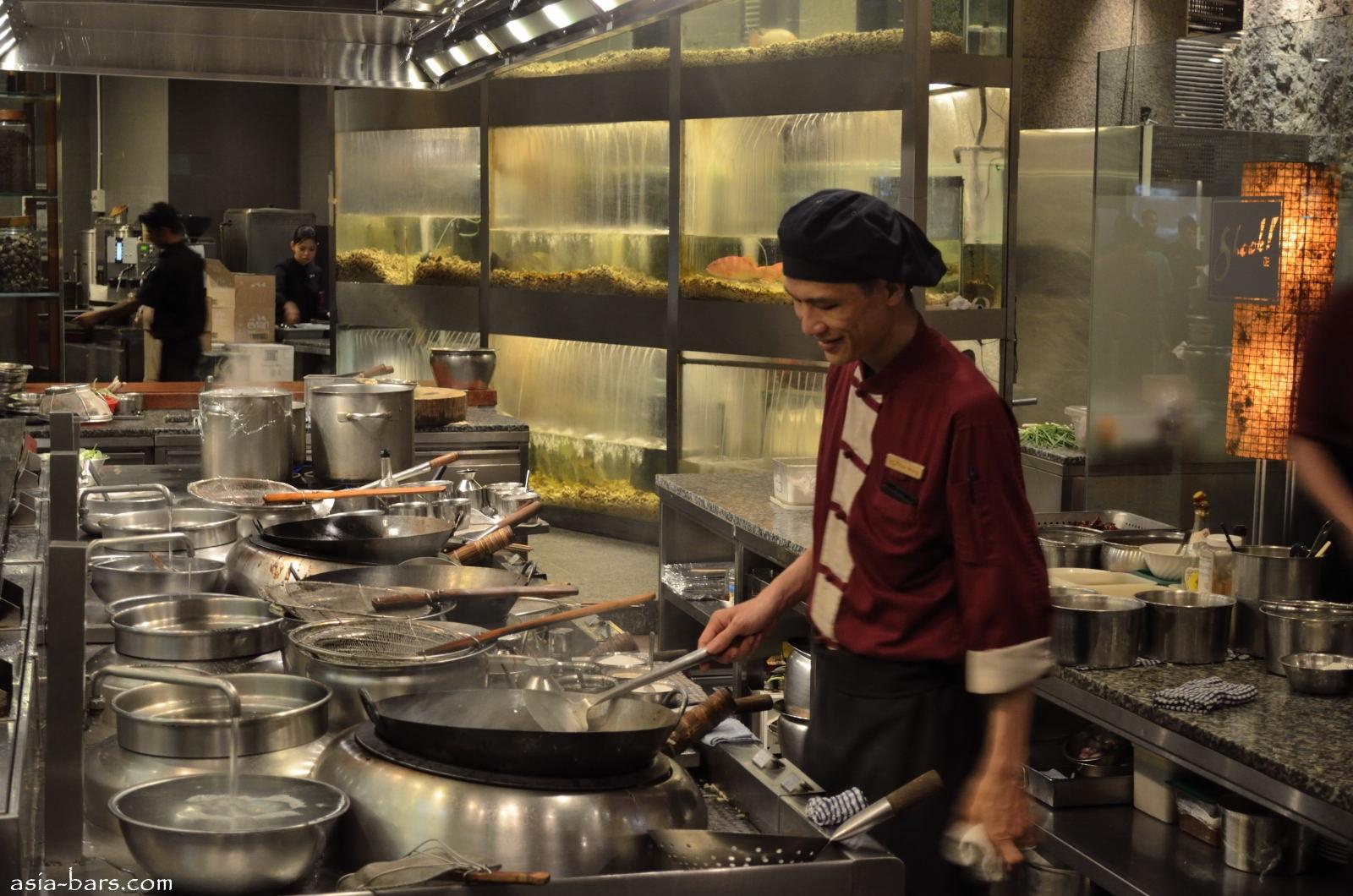 Vegtabels In A Restaurant Kitchen