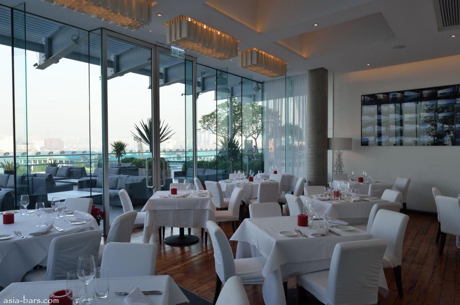 Isola Bar Grill Elegant Italian Restaurant Overlooking