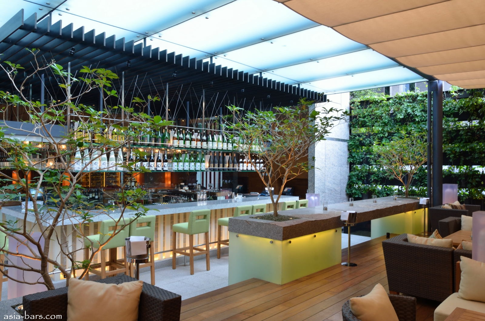 Zuma bangkok globally acclaimed restaurant group opens for Restaurant with terrace