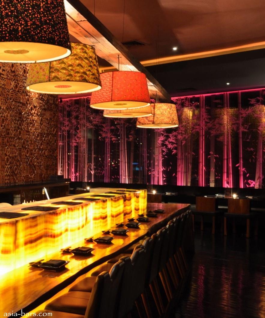 BLOWFISH Kitchen amp Bar Contemporary Japanese Dining Sensuous Lounge Illuminate Jakarta