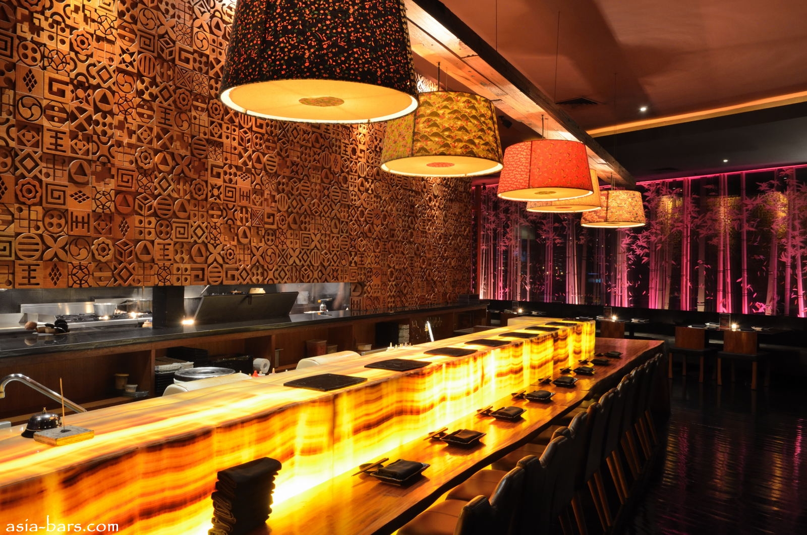 BLOWFISH Kitchen amp Bar Contemporary Japanese Dining Sensuous Lounge Illuminate Jakarta