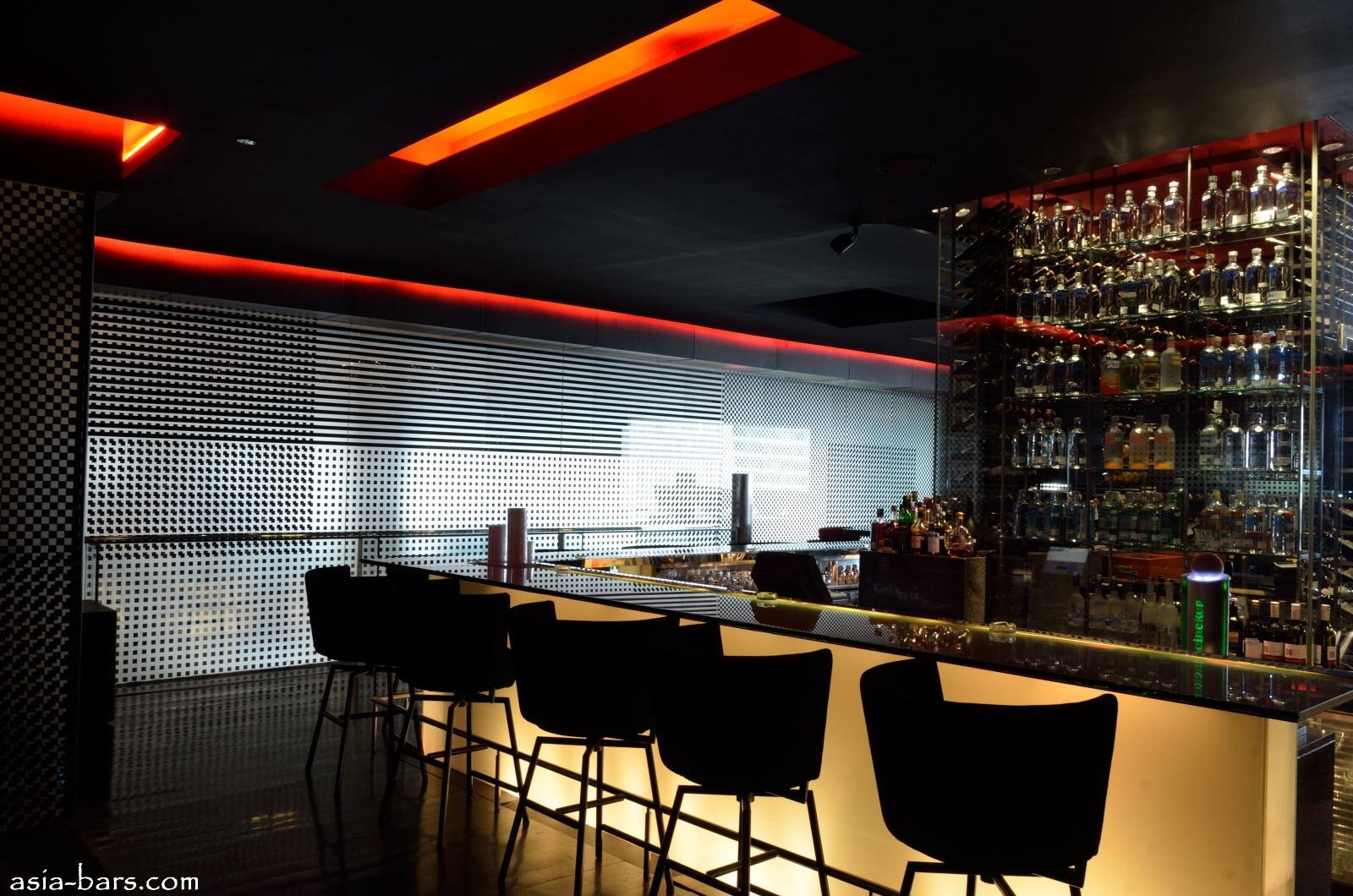 burgundy @ Grand Hyatt Jakarta- singularly stylish and sleek bar ...
