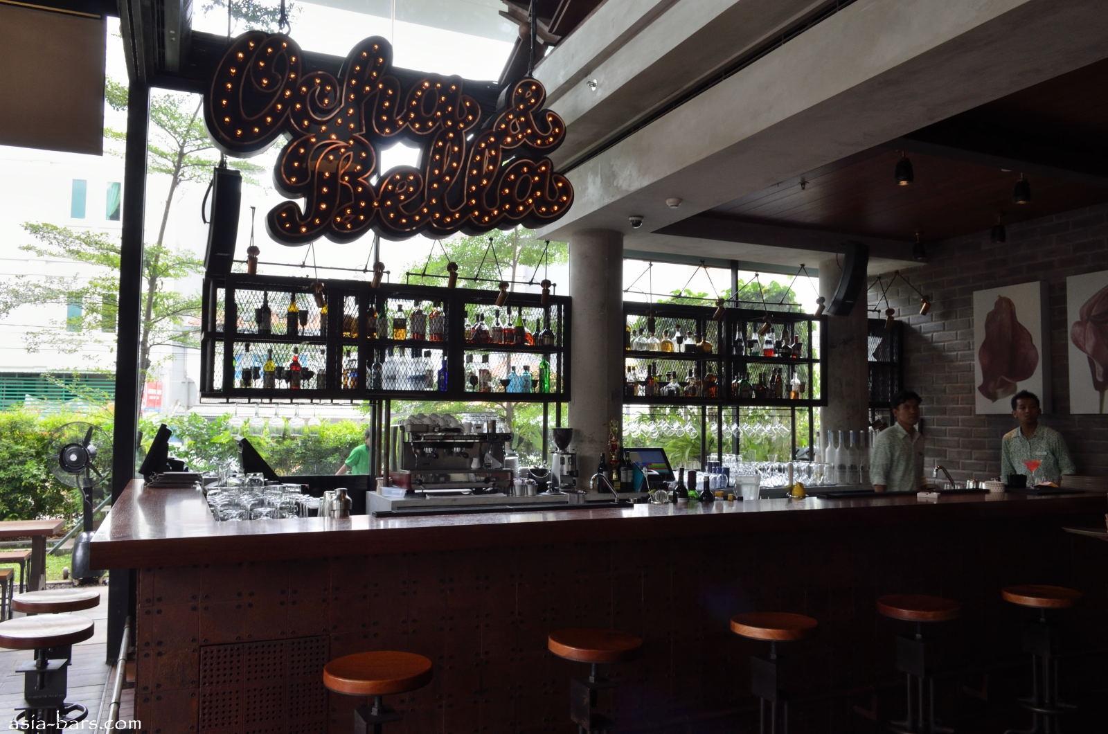 Ocha Amp Bella Contemporary Restaurant Amp Bar In Jakarta