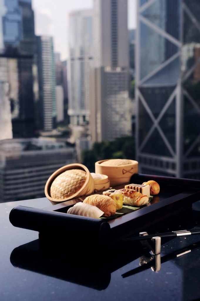 M bar dim sum with a view