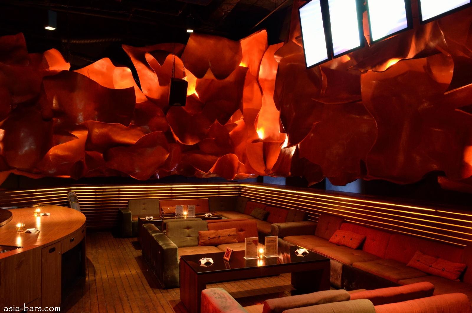 Dragonfly Glamorous Lounge Club Illuminates Nightlife