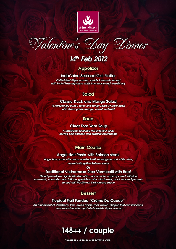 Valentine S Day In Singapore Guide To Selected Dining Promotions
