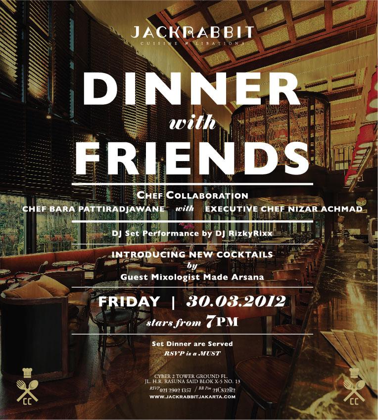 JR-Dinner w- Friends