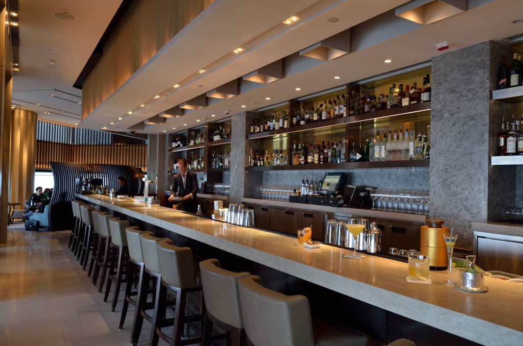 Cafe Gray Deluxe- Bar & Lounge at The Upper House, Hong Kong ...
