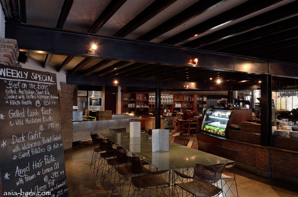 corrugated steel ceiling ideas - KuppA – venerable cafe restaurant in Bangkok features
