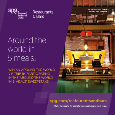 SPG-Rest&Bars-around the world in 5 meals