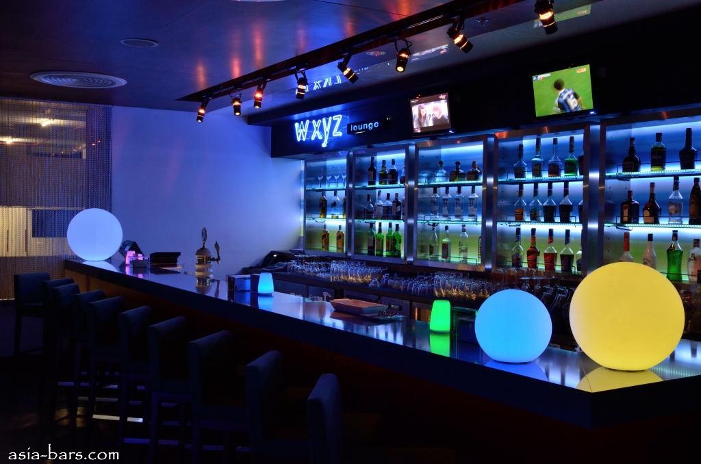 W Xyz Bar At Aloft Bangkok Raising The Bar With Sumptuous