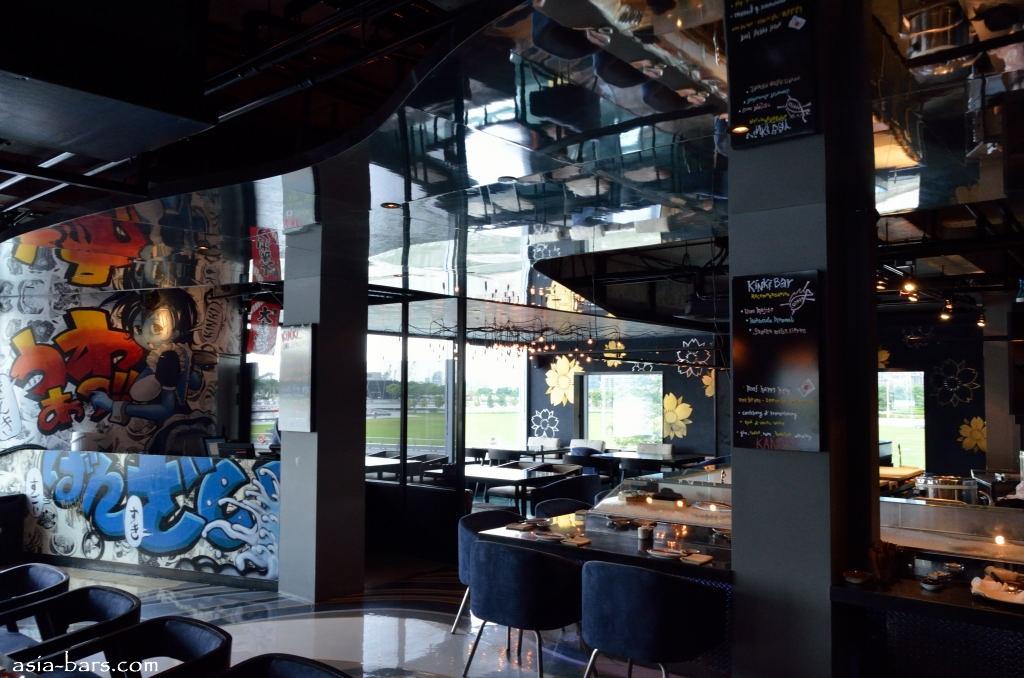 Kinki rooftop bar restaurant in singapore hip urban