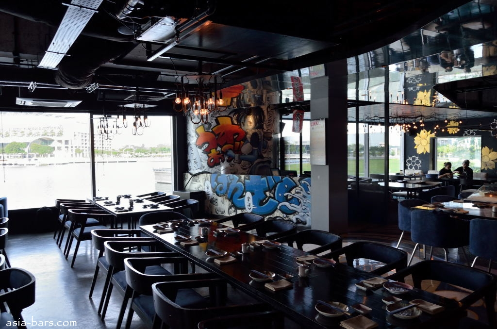 Kinki rooftop bar restaurant in singapore hip urban for Asian cuisine singapore