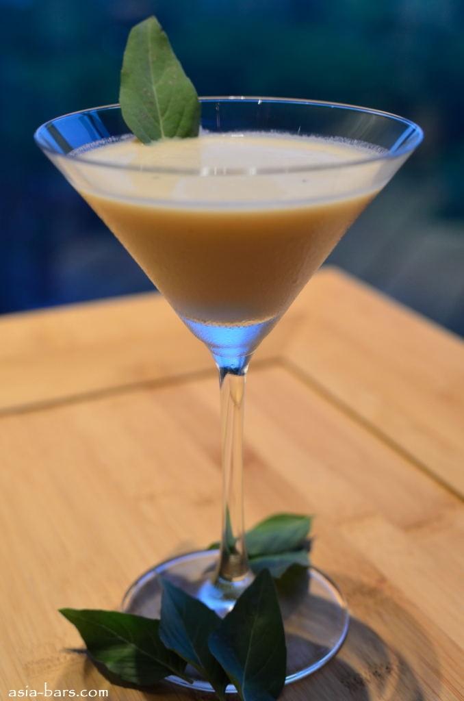 Thai Coconut Daiquiri - White rum, Malibu, lime, Thai basil, coconut ...