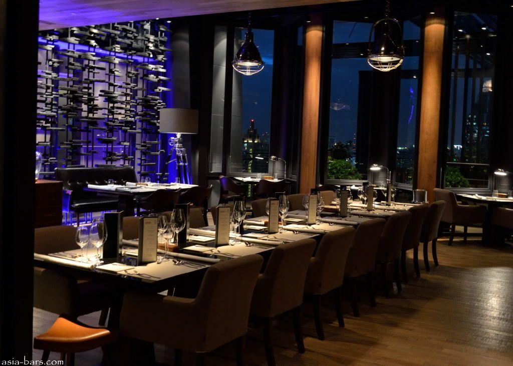 Elements signature restaurant at the okura prestige for Element cuisine