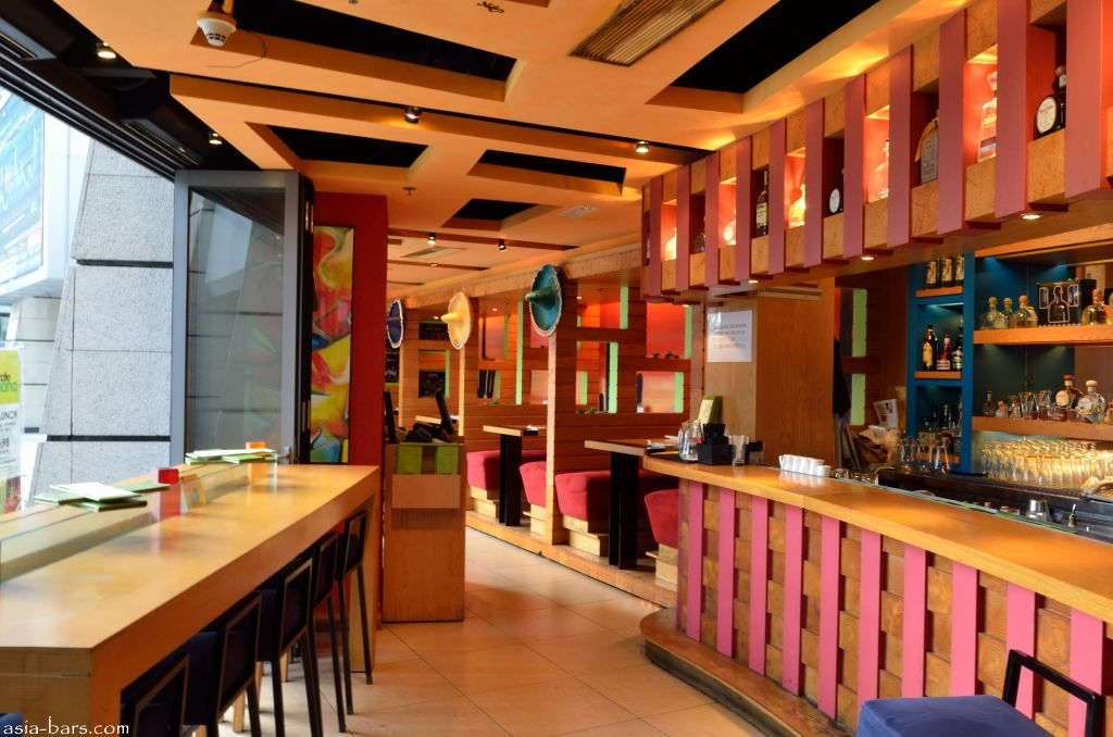 Cafe Iguana Elements In Hong Kong Contemporary Mexican