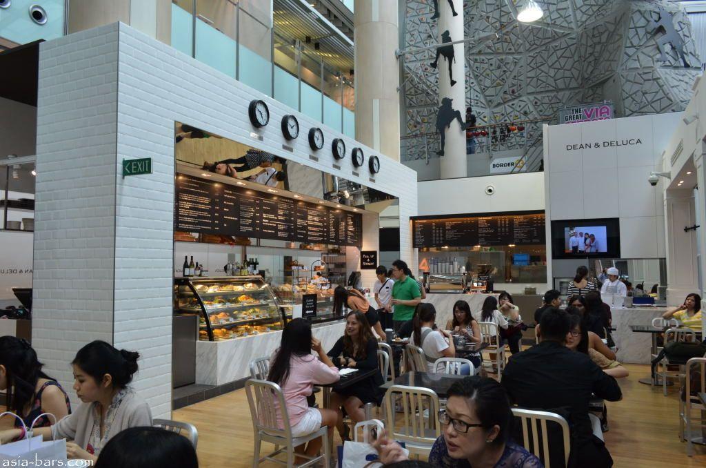 Dean Amp Deluca Singapore Famous New York Gourmet Cafe