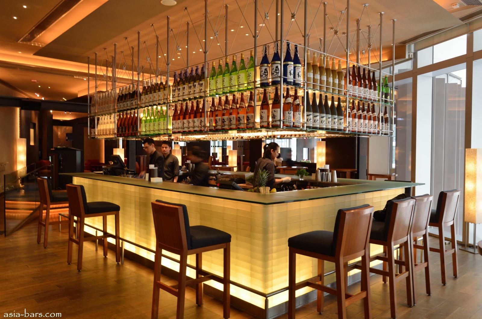 Zuma hong kong introduces zuma around the world top for Cuisine bar design