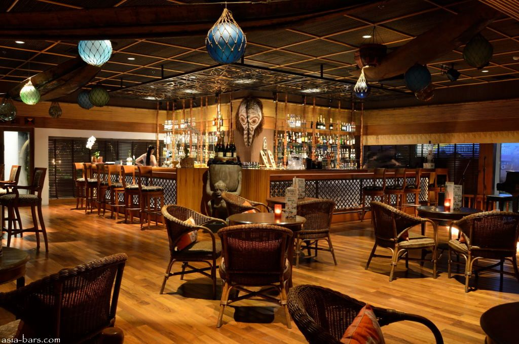 Mai Tai Bar At Trader Vic S Anantara Bangkok Riverside