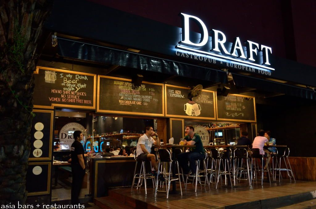 DRAFT GASTROPUB European Beers And Quality Pub Food At The Fort In Manila Asia Bars
