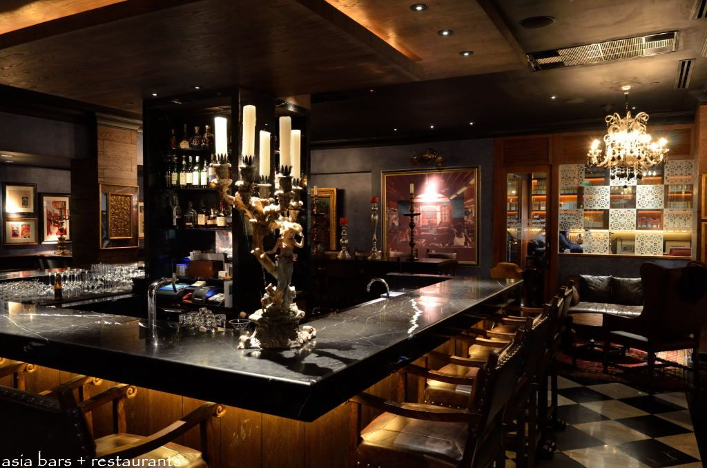 The Bar At The Peninsula Manila The Quintessential
