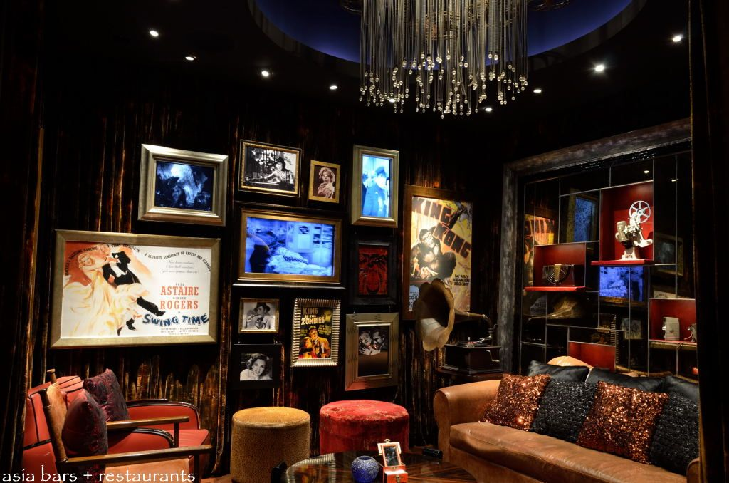 Salon de ning glamorous lounge live music venue at the for Cinema a salon