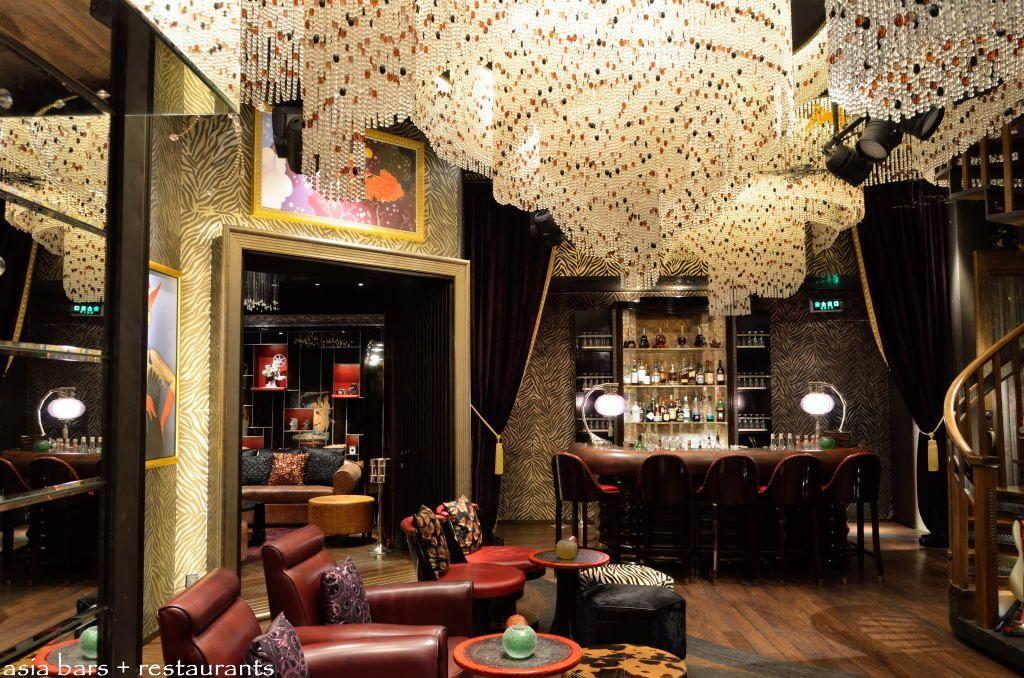salon de ning glamorous lounge live music venue at the peninsula shanghai asia bars. Black Bedroom Furniture Sets. Home Design Ideas