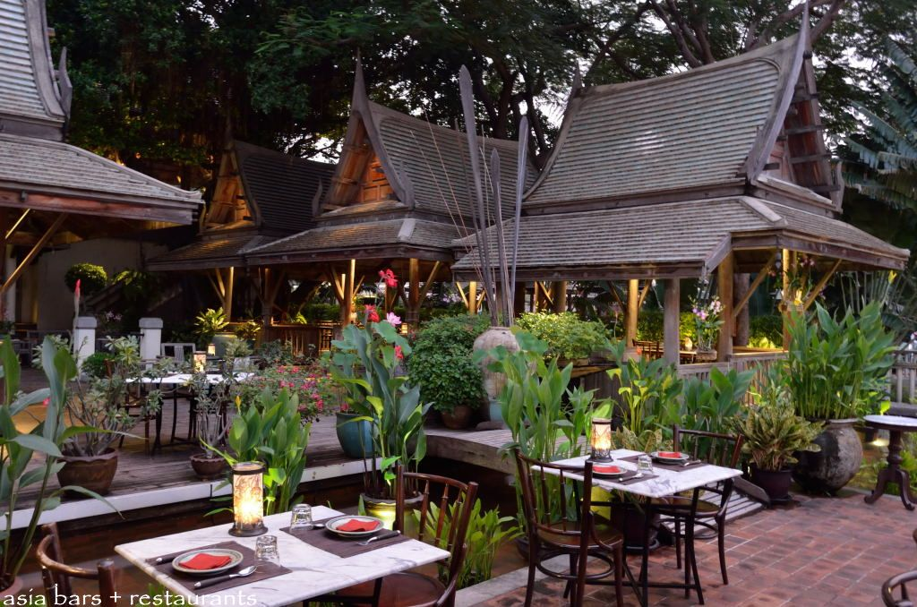 Thiptara thai restaurant lounge riverfront at the