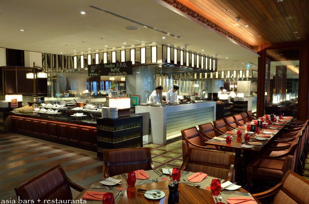 Panorama- all-day dining restaurant at Crowne Plaza Bangkok Lumpini ...